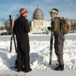EEUU: Washington funciona a medias al paso de lo peor de la tormenta