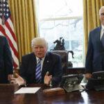 """EEUU: Trump anuncia estar """"abierto"""" a intentar otra reforma de salud (VIDE0)"""