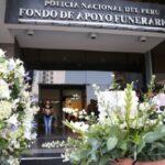 Lima: Velan restos de policía asesinado en los Barrios Altos (VIDEO)