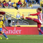 Liga Santander: Atlético de Madrid de visita apabulla 5-0 a Las Palmas