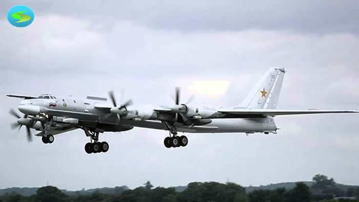 Cazas de EU interceptan a dos bombarderos rusos cerca de Alaska