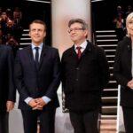 Francia: Se acorta distancia entre los 4 candidatos presidenciales favoritos