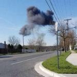 EEUU: Avión caza F-16 se estrella en Maryland, piloto se salvó al eyectarse