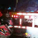 Áncash: choque de tráiler con moto de carga deja dos muertos