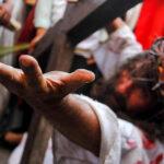 Cristo Cholo recorrió calles de Lima y el Rímac (Fotos)