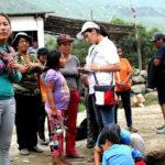 Cruz Roja Peruana entregó ayuda humanitaria en Huarochirí