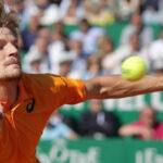 Masters 1000 de Montecarlo: David Goffin en tercer set elimina a Novak Djokovic