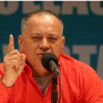 """Venezuela: Cabello asegura que """"ni con sangre"""" va a haber cambio"""