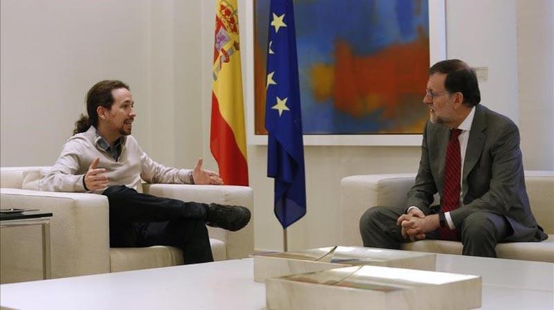 Unidos Podemos presenta una moción de censura a Mariano Rajoy