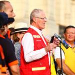 Kuczynski felicita a Inés Melchor por triunfo en maratón de Santiago
