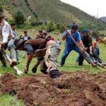Empezó rehabilitación de infraestructura agrícola que brinda empleos temporales