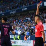 Neymar podría perderse el clásico ante Real Madrid si recibesanción de tres fechas