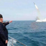Corea del Norte lanzó un proyectil no identificado hacia el Mar de Japón