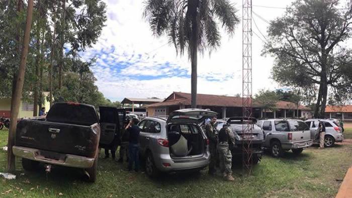 Suman detenidos y recuperan US$ 1,4 millones del botín — Paraguay