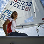 Velerista Paloma Schmidt clasifica a la Sailing World Cup 2017-2018