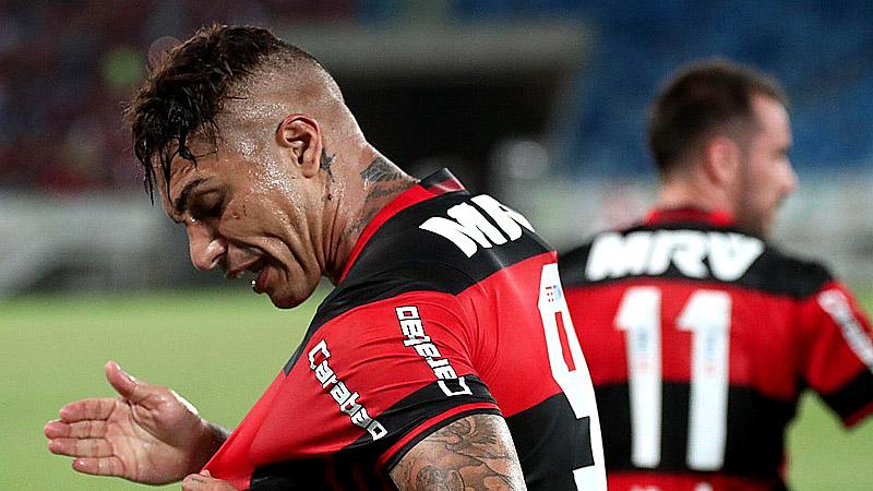Mira el doblete de Guerrero que llevó al Flamengo al triunfo — PERÚ
