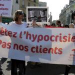 Prostitutas de París protestan contra ley que castiga a sus clientes (Fotos)
