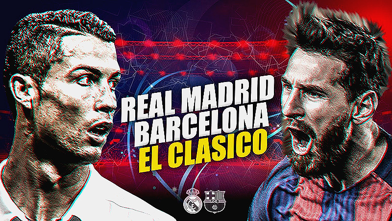 Gracias a Messi, el Barcelona vence en último minuto al Real Madrid