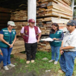 Serfor transfirió más de 9,000 pies de tablares de madera para damnificados