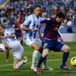 Liga Santander: Barcelona cae ante Málaga y se aleja del Real Madrid