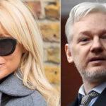 Pamela Anderson pide al gobierno de Francia refugio para Julian Assange