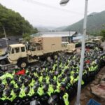 Corea del Sur: Llegan equipos del escudo antimisiles estadounidense