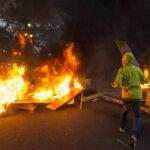 Brasil: Barricadas e incendios en protesta contra medidas de austeridad