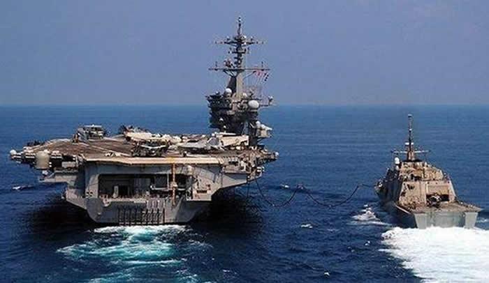Portaaviones de EEUU va rumbo a región coreana