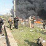 Mueren 24 personas por explosión de coche bomba contra evacuados en Alepo