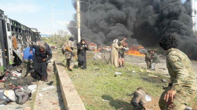 Siria: Atentado con coche bomba deja al menos 24 muertos