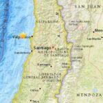 Sismos de magnitud 6 y 5.8 afectan a la zona central de Chile