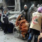 Siria: Empezó evacuación de civiles y milicianos en 4 ciudades asediadas