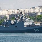 Rusia envía poderosa fragata con misiles a base militar Tartús en Siria (VIDEO)