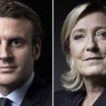 Francia: Macron y Le Pen encabezan primeros sondeos