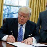 EEUU: Trump firmará hoy orden para revivir ley que restringe importaciones