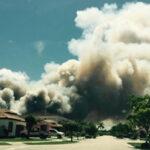 EEUU: Voraz incendio forestal se expande hacia noroeste de Miami-Dade (VIDEO)