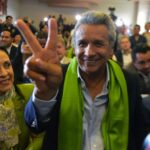 Lenín Moreno logra 51.16% de votos en Ecuador con escrutinio al 98.96%