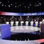 Francia: Mélenchon el candidato mejor valorado en debate de presidenciales
