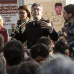 """Francia: Mélenchon despide su campaña al grito de """"sí, se puede"""""""