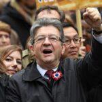 Francia: Mélenchon se dispara en la intención de voto, según un sondeo