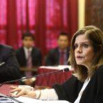 Mercedes Aráoz asegura que el Gobierno no realiza reglajes