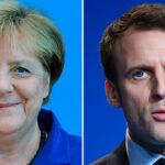 """Merkel confía en que Macron será un presidente """"fuerte"""" en Francia"""