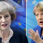 """Canciller Merkel: Reino Unido no tendrá mismos derechos tras el """"brexit"""""""