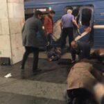 Rusia: Al menos diez muertos por explosión en metro de San Petersburgo