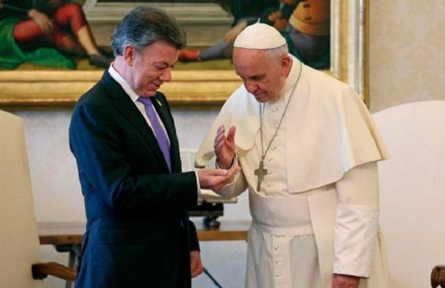 Santos y el papa entre las 100 personas más influyentes del mundo