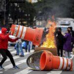 La huelga contra reformas promovidas por Temer se siente en todo Brasil