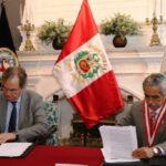 Poder Judicial y Policía Nacional intercambiarán información sobre crimen organizado