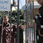Palestinos secundan masivamente un paro general en apoyo a presos