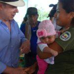 Colombia: Santos visitó de sorpresa campamento de las FARC en Putumayo
