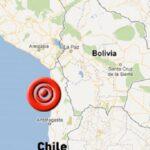 Sismo de magnitud 5.4 sacude 14 localidades del norte de Chile